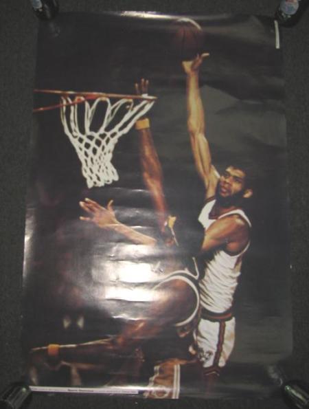 Kareem Abdul-Jabbar 1974 SI Poster Studio One MilwaukeeBucks