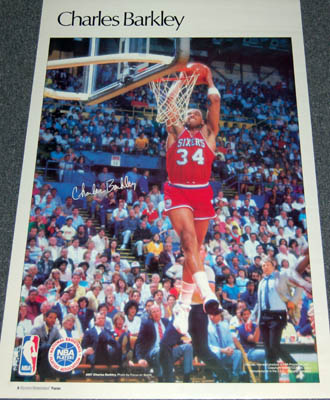 Charles Barkley 1985 Sports Illustrated Poster by Marketcom