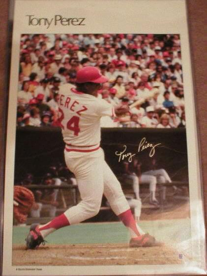 1985 Tony Perez SIposter