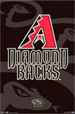 Arizona Diamondbacks Official Logo Poster