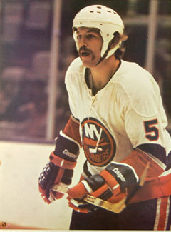 Denis Potvin 1973 New York Islanders Hockey Poster
