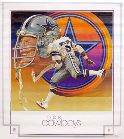 Dallas Cowboys 1979 DAMAC Chuck Ren Poster