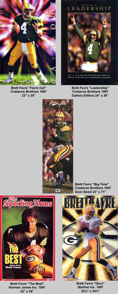 Brett Favre Posters1997