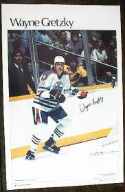 Wayne Gretzky 1982 Edmonton Oilers Marketcom SIPoster