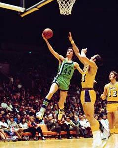 Pete Maravich 1971 Atlanta Hawks Uniform PosterPrint