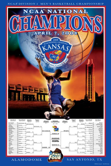 Kansas Jayhawks 2008 Men\'s Basketball Championship Final Four
