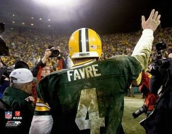 Brett Favre Farewell Poster Print (2005) Photofile Inc.