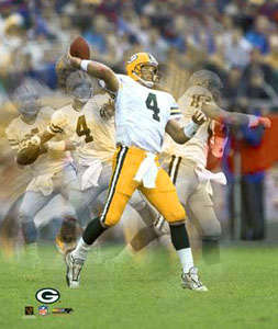 Brett Favre Multi-Action Poster Print Photofile Inc.