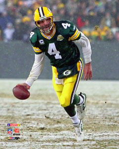 Brett Favre Final Victory Poster Print Photofile 2008