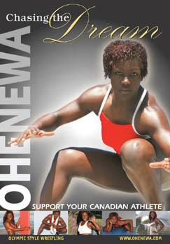 Ohenewa Akuffo Olympic Womens Wrestling Poster