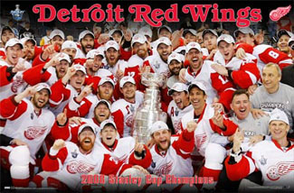 "Detroit Red Wings ""Celebration 2008\"" - Costacos Sports"