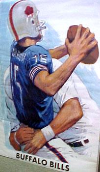 Buffalo Bills 1966 AFL Theme Art Poster - Publisher Unknown