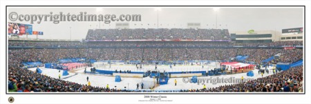 2008 Winter Classic Panoramic Poster Print - Everlasting Images Inc.