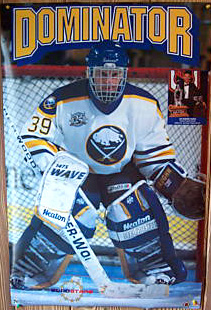 "Dominik Hasek ""Dominator"" (Old-School Uni) - Norman James Corp. 1995"