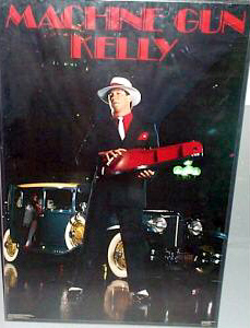 "Jim Kelly ""Machine Gun Kelly"" Poster - Costacos Brothers 1987"