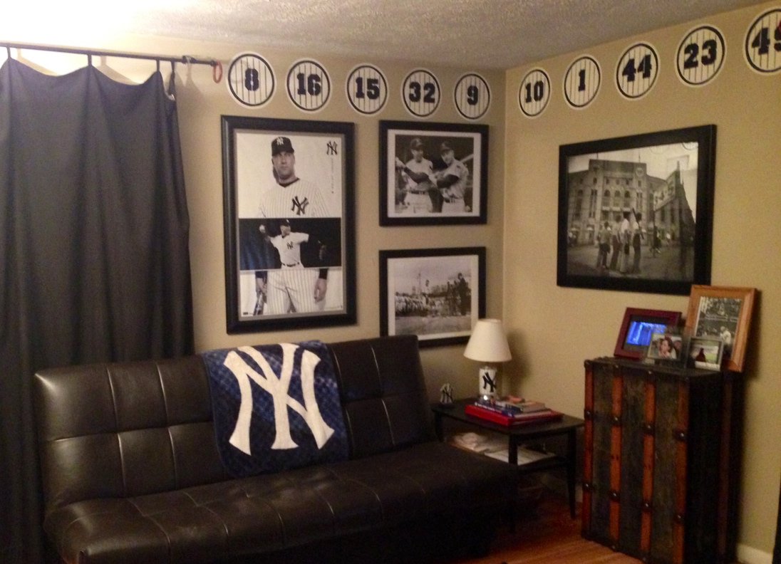 The sports posters blog info on the world of collecting for Male apartment bedroom ideas