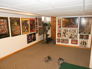 Honorable Mention - Eric Stanley's Tiger & Michael Man Cave