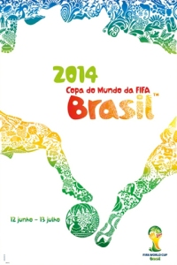 FIFA World Cup 2014 Brazil Host-Country Portuguese Edition Poster