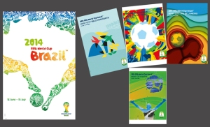 FIFA World Cup 2014 Official Posters