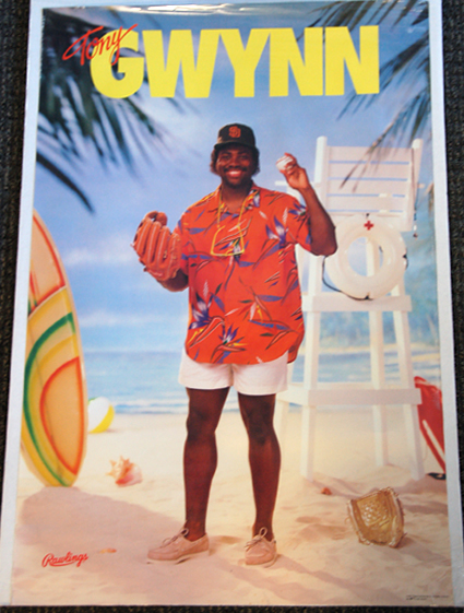 tony-gwynn-beach-rawlings-1987-poster
